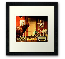 The Toy Box Framed Print