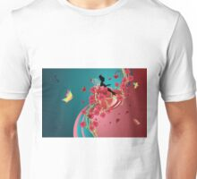 Hearts and Roses 3 Unisex T-Shirt