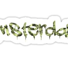 Amsterdam Weed Buds Sticker