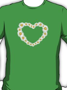 Heart with chamomiles T-Shirt