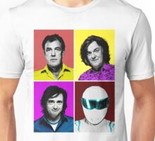 Top Gear Inspired Pop Art, All Personalities in One Unisex T-Shirt