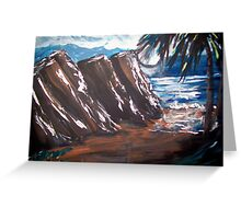 Ocean Winds Greeting Card