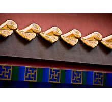 Forbidden City Eave Photographic Print