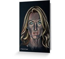 Victoria Smurfit  Greeting Card