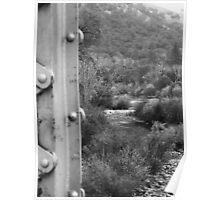 American River Bridge Poster
