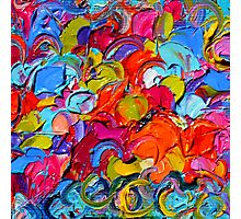 Colorful abstract Photographic Print
