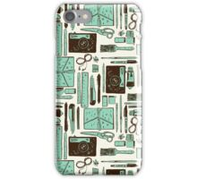 Artist's tools of trade iPhone Case/Skin