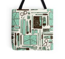 Artist's tools of trade Tote Bag