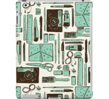 Artist's tools of trade iPad Case/Skin