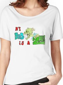 Zombie Fathers day Women's Relaxed Fit T-Shirt