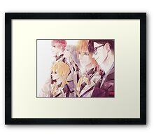 All the guys love you ~Nameless Framed Print