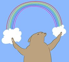 Rainbow Bear of Happiness by imaginarymuse