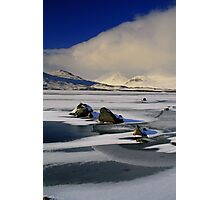 Blackmount Snowstorm Photographic Print