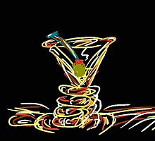 Martini Time by Charlene Biesele by Charlene Biesele