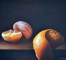 Orange Peeled Still Life by Steve Driver