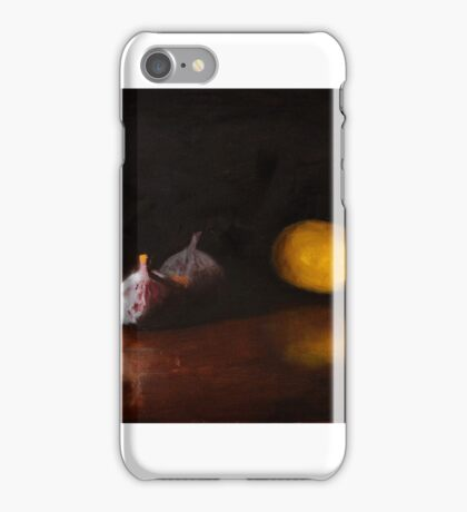 Lemon and Figs Still Life iPhone Case/Skin