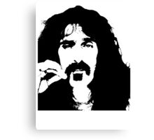 Frank Zappa T-Shirt Canvas Print