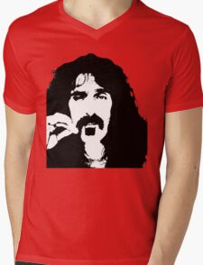 Frank Zappa T-Shirt Mens V-Neck T-Shirt
