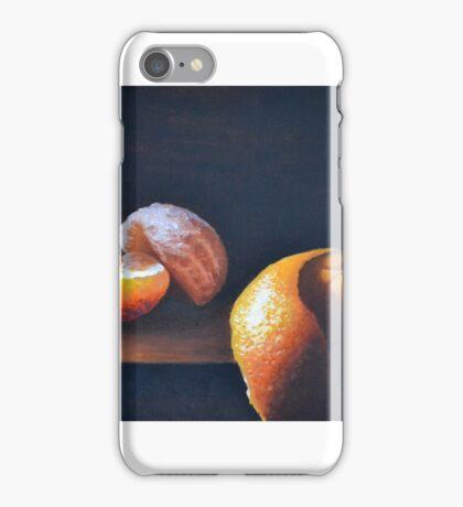 Orange Peeled Still Life iPhone Case/Skin