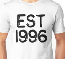 Born in 1996 Unisex T-Shirt