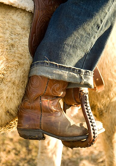 Cowboy Boots by ShahnaChristine .