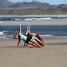 Beach Yoga by Stephanie  Wiese