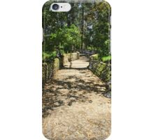 Path Through a Forest iPhone Case/Skin