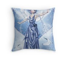 Angelic Joy Throw Pillow