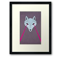Coyote by Wylee Sanderson Framed Print