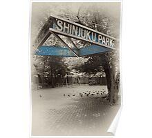 Shinjuku Park Poster