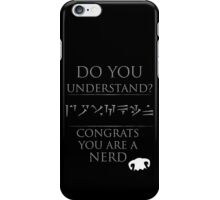 Skyrim - Dragon Language iPhone Case/Skin