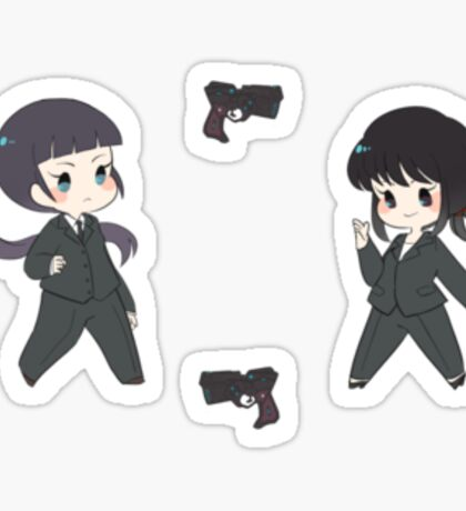 Psycho Pass 4 Sticker