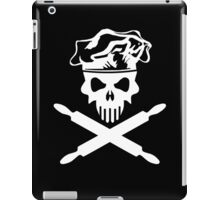 Baker Skull and Crossed Rolling Pins iPad Case/Skin