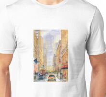 On The Way To Freedom Tower Unisex T-Shirt