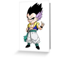 Gotenks Chibi Greeting Card