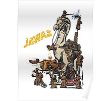Java Party Text Faded Poster