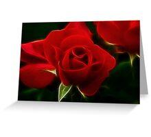 Dreamy Rose Greeting Card