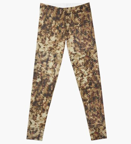 Old textile fabric pattern texture Leggings