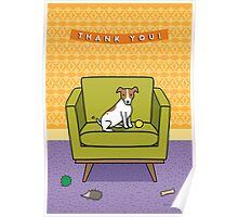 Jack Russell Thank You! Poster