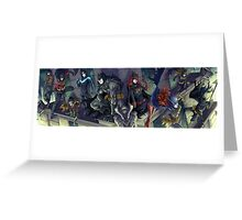 Vengeance and Night Greeting Card