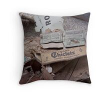 Chiclets Throw Pillow