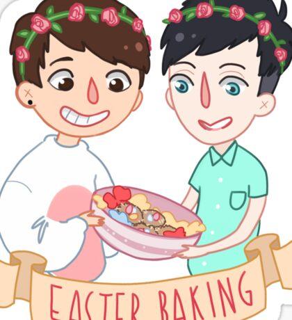 Easter Baking  Sticker