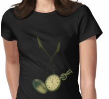 Pocket Time  Womens Fitted T-Shirt
