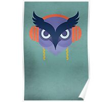 Owl by Wylee Sanderson Poster