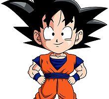 Goku Chibi by Michael Wright