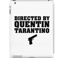 Directed by Quentin Tarantino iPad Case/Skin