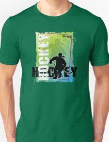 Abstract Hockey Female T-Shirt