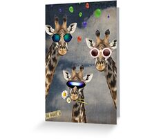 Animal Collection -- Let's Take A Selfie Greeting Card
