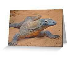 That's Mr. Komodo  Greeting Card