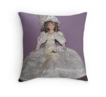 Victorian Beauty Throw Pillow